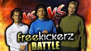 Epische team freekickerz fußball challenge