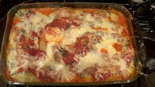 Don's Cook Nook: Spinach And Ricotta Stuffed Shells