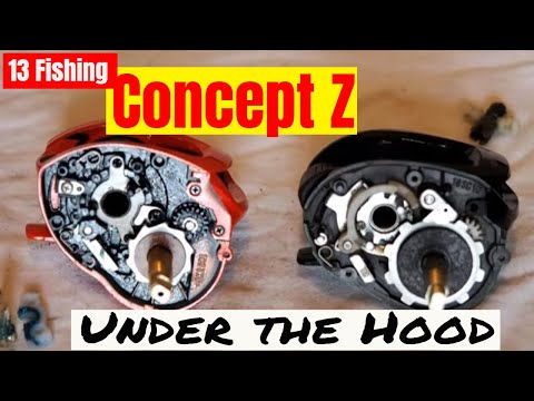 13 fishing concept z reel under the hood youtube for Concept z 13 fishing