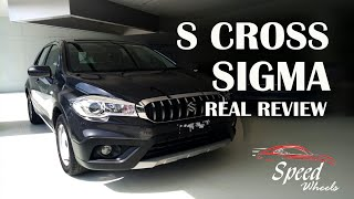 Maruti Suzuki Nexa S Cross Sigma 2019    Speed wheels  Nexa Scross sigma real review