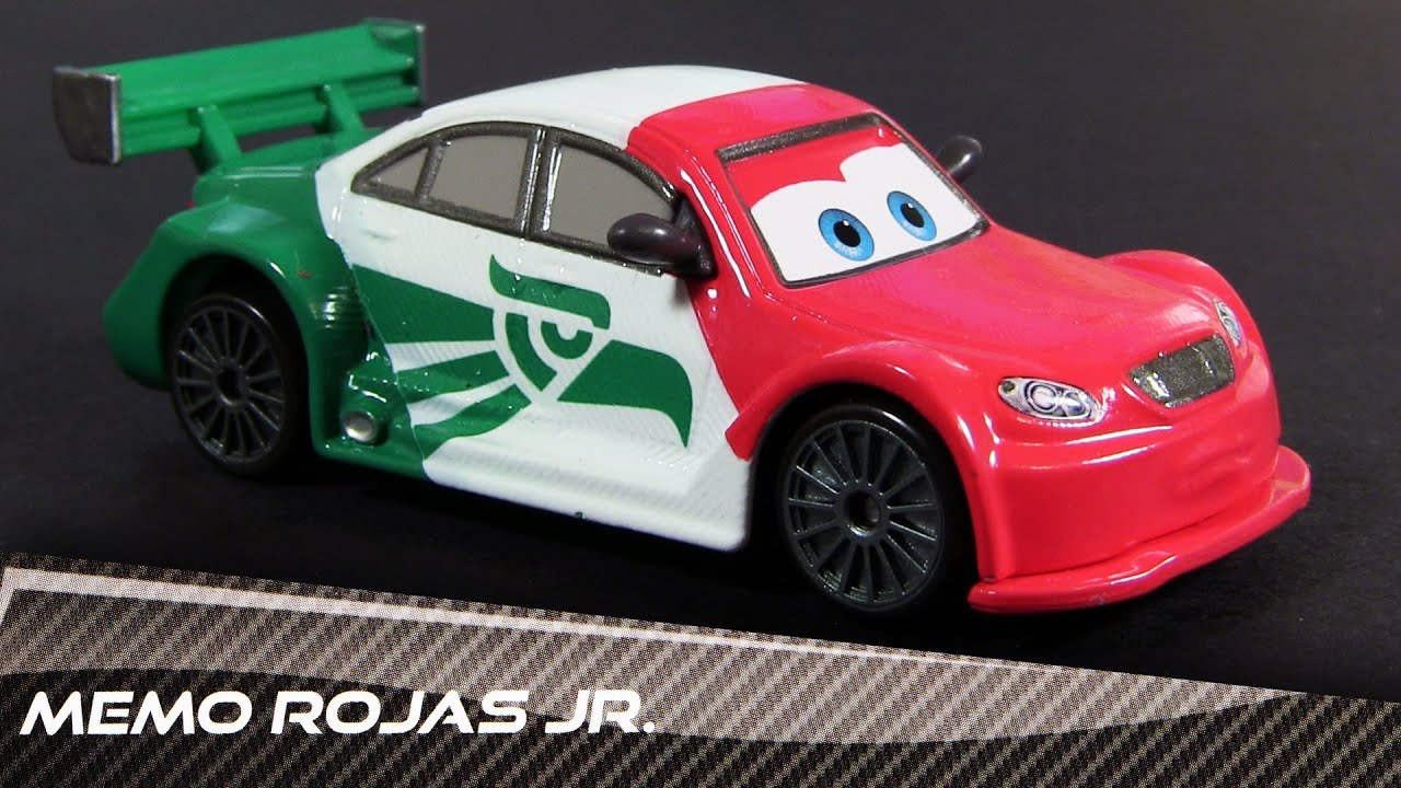 Disney Cars Memo Rojas Jr Mexican Racer Ultimate Super Chase