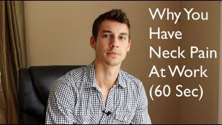 Why You Have Neck Pain and Migraine Headaches (60 sec) - Alexander Heyne