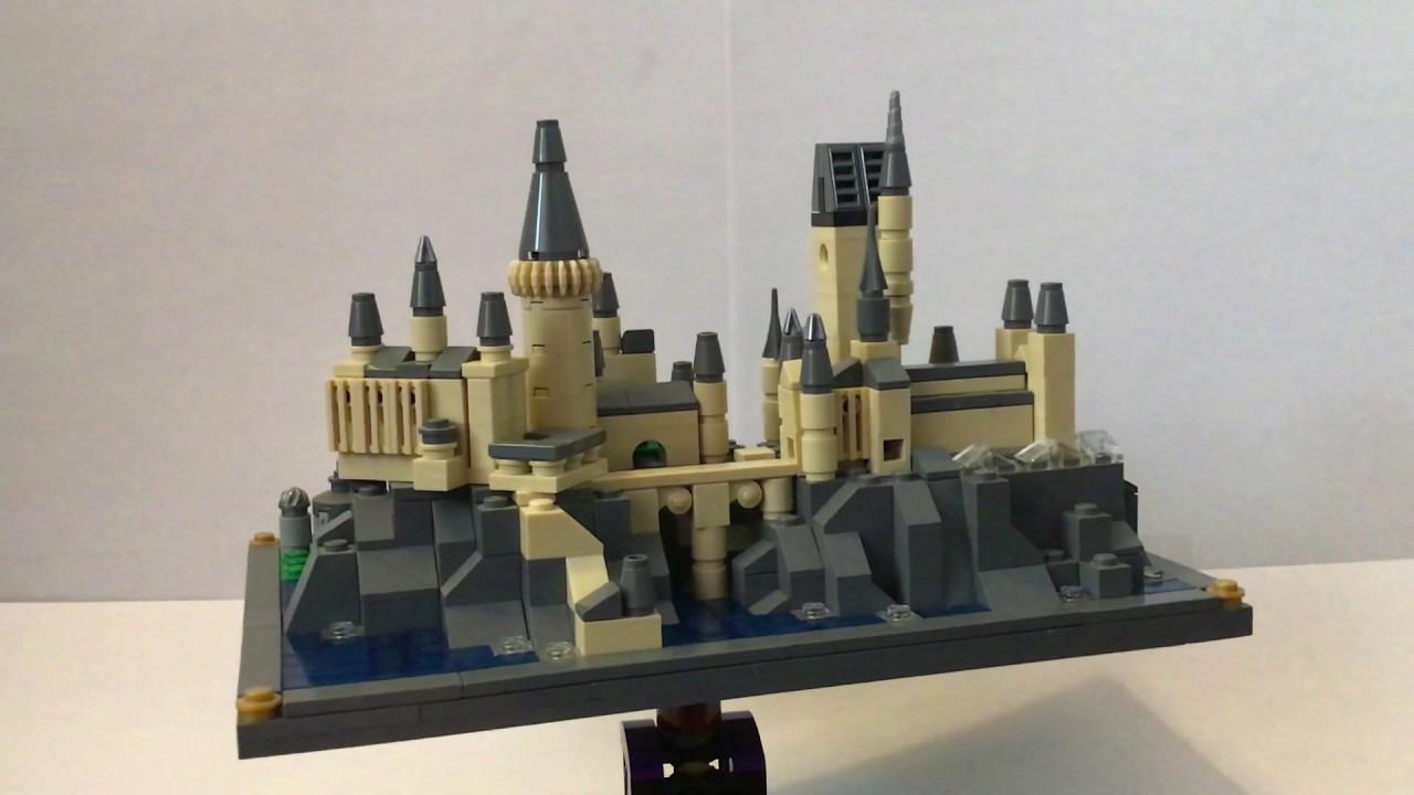 Custom LEGO Micro-scale Hogwarts Castle MOC - YouTube