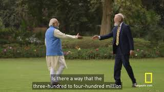 Behind the Scenes: David Letterman Interviews Narendra Modi
