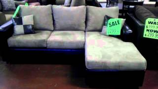 7x5 Sectional With Reversible Chaise Lounge Vdub Furniture