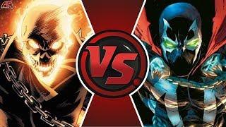 GHOST RIDER vs SPAWN! (Marvel vs Image Comics) | Cartoon Fight Club Episode 338