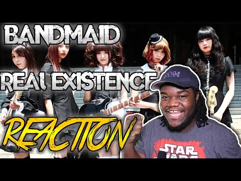 BAND-MAID - REAL EXISTENCE : REACTION!!