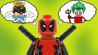 Трудный выбор Дэдпула! Лего мультики на русском  Новые мультфильмы 2018