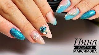 ❤ КОРОЛЕВСКИЙ дизайн ногтей ❤ РАЗЛИЧИЕ гелей COSMOPROFI ❤ НЕЖНЫЙ дизайн ногтей гель лаком ❤