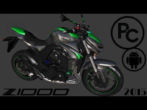 KAWASAKI Z1000 2015 | PC FRACO & ANDROID | C/S BRAÇOS | GTA SAN ANDREAS MODS