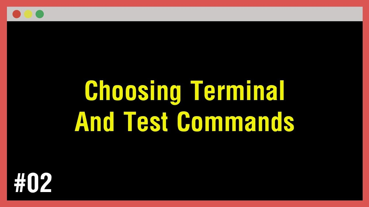 [Arabic] Learn Command Line #02 - Choosing Terminal And Test Commands