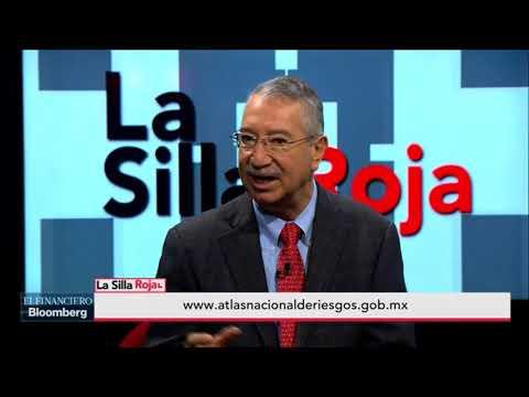 #LaSillaRoja presenta a Carlos Valdés, director del Cenapred