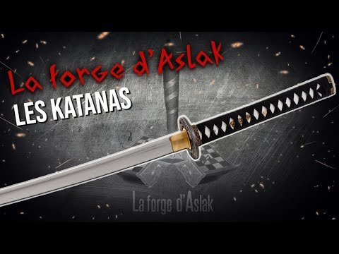 La forge d'Aslak - Les katanas