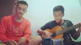 Bikin baper Sampai hari tua (anji) cover by caweng and ejen