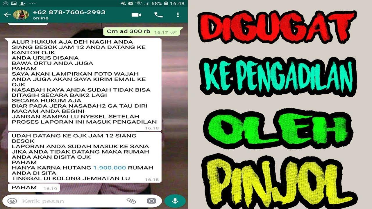 digugat ke pengadilan oleh Debt Collector Pinjol? - YouTube