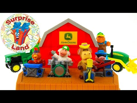 John Deere Kids Toy Play Farm - Farmer Toy Animal Band Play Fun Music