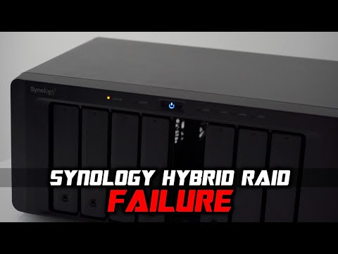 Synology Hybrid RAID CRASH Recovery Guide 🤓 - YouTube