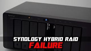 When Synology Hybrid RAID CRASHES? | NAS Volume Recovery Case Study 🤓