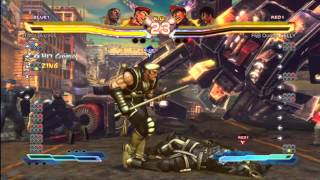 SFxT Ranked Matches 79-81 (Stick Training, no more ranked for on)