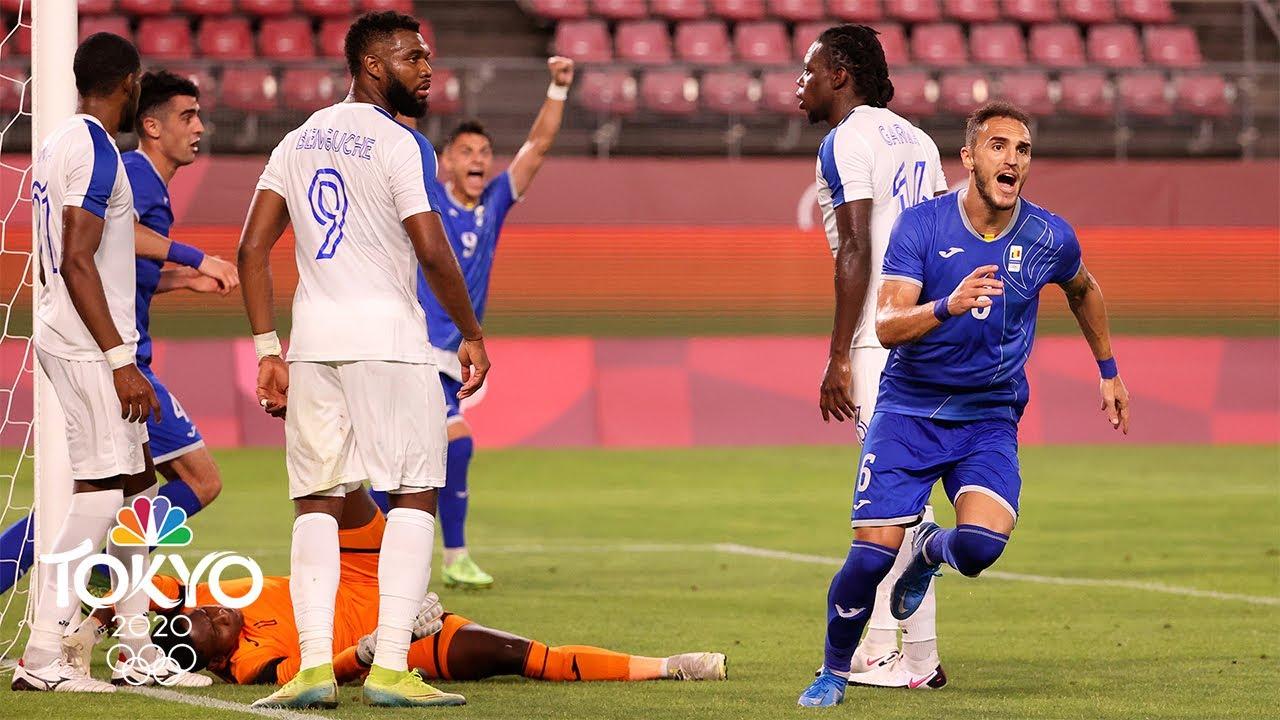 Romania beats Honduras 1-0 on return to Olympic soccer