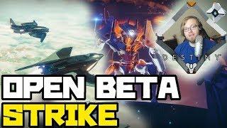 """DESTINY 2 STRIKE GAMEPLAY"" !!! INVERTED SPIRE OPEN BETA !"