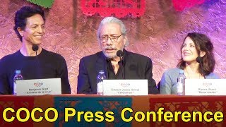 Disney Pixar COCO Press Conference With Director Lee Unkrich, Benjamin Bratt, Edward James Olmos +