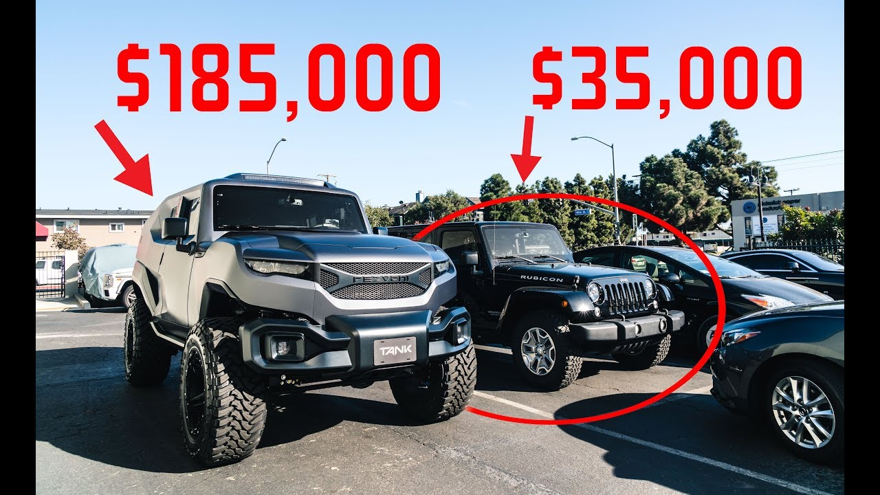 The Rezvani Tank Is The 200 000 Modified Jeep From The Year 2035