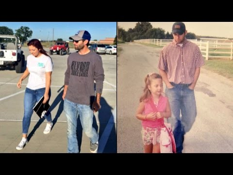 Dad Walked Daughter to First Day of Kindergarten and Last Day of High School