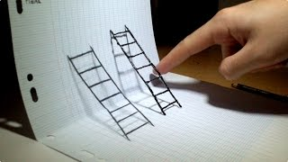 Optical Illusion 4D art !
