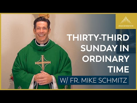Thirty-third Sunday in Ordinary Time - Mass with Fr. Mike Schmitz