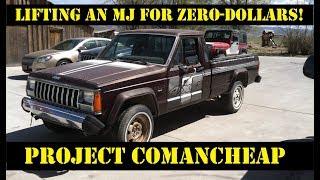 1 Comanche, 1 weekend, 1 lift install, ZERO DOLLARS. Project Comancheap