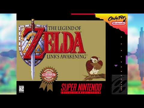 First Time on Koholint Island - The Legend of Zelda: Link's Awakening E3  SNES Remix