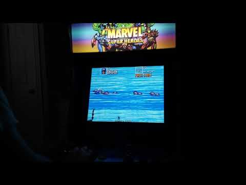 Some Drinks and Arcade1Up on a Cloudy Gloomy Rainy Day, AVENGERS ASSEMBLE!!!! from SegaSaturnSNK