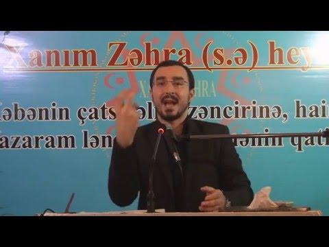 Hacı Talehin Nardaran hadisələrinə səbəb olan çıxışı! 14.11.2015