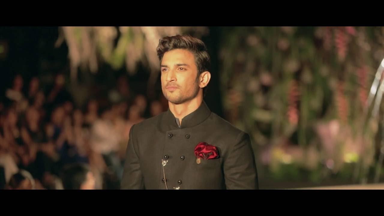 978144767c Sushant Singh Rajput for Manish Malhotra - Winter/Festive 2016 - YouTube