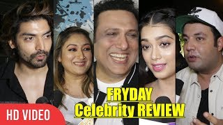 FRYDAY Movie Celebrities REVIEW | Gurmeet Choudhary & Debina Bonnerjee
