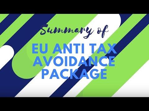 SUMMARY OF EU ANTI TAX AVOIDANCE PACKAGE
