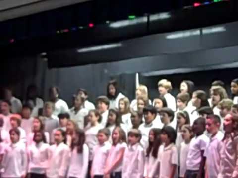 Bells Mill Elementary School Chorus Concert 2010