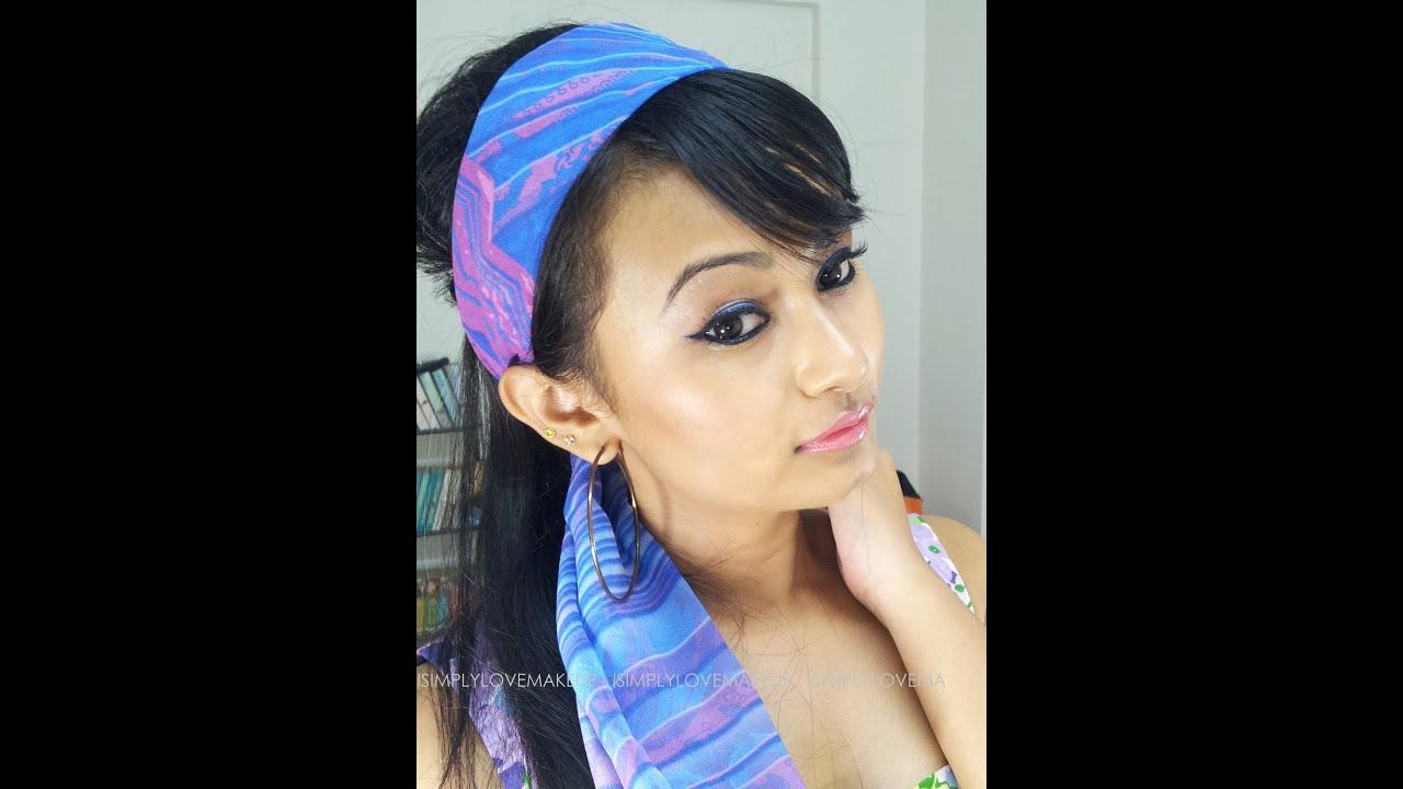 Youtube Makeup Tutorials Popular: 1970s Bollywood Inspired Makeup
