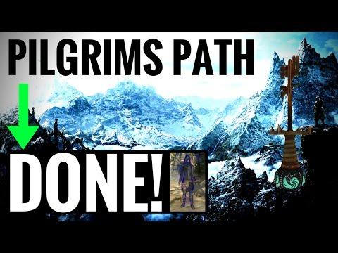 The PILGRIMS PATH & Returning the Skeleton Key - Skyrim Remastered