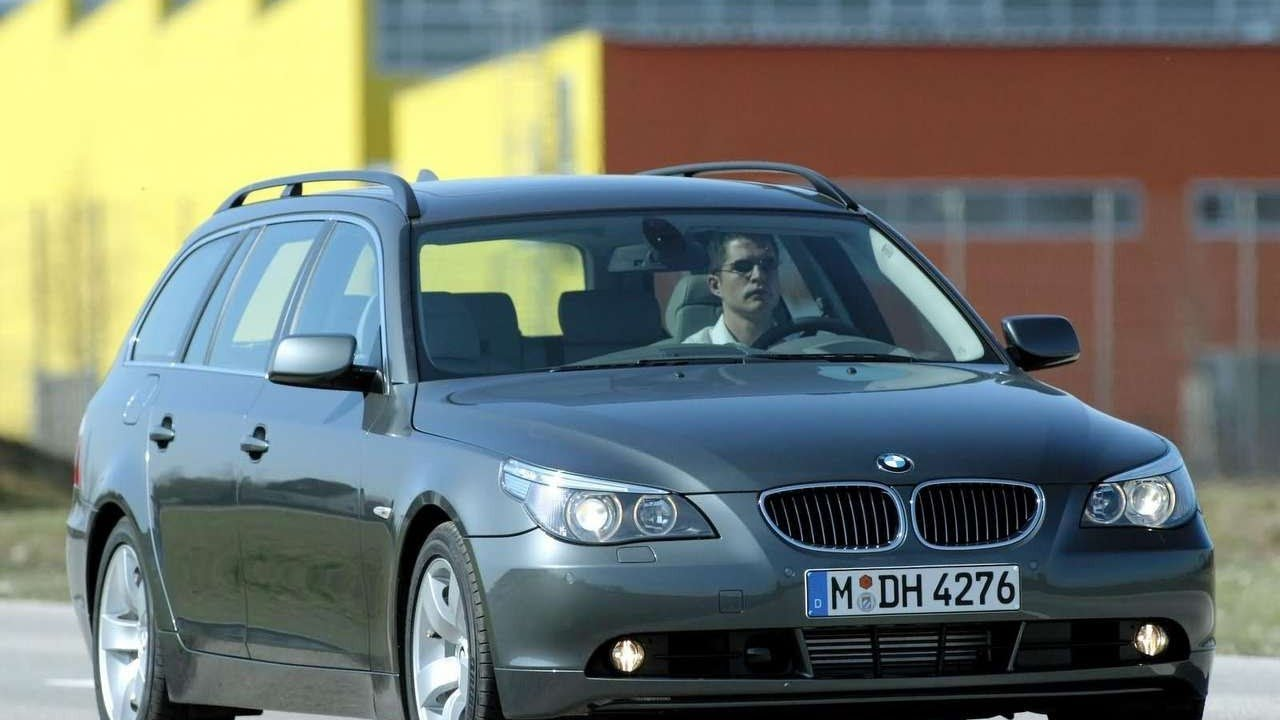 2005 BMW 545i Touring - YouTube