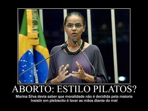 Presidenciável Marina Silva em cima do muro mais uma vez