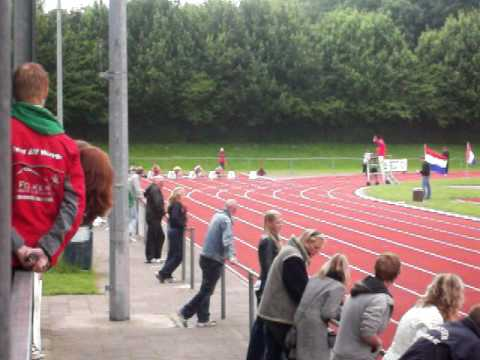 Kim Boon 100m A-competitie 20 juni 2010 Emmeloord