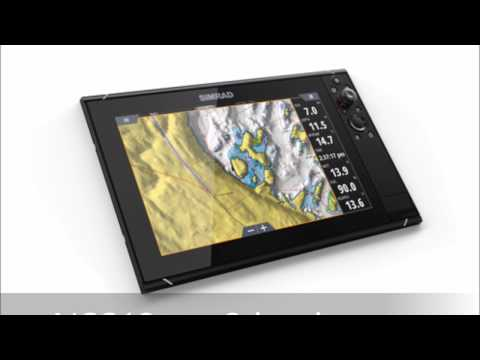 NSS12 evo3 chartplotter gps in colour