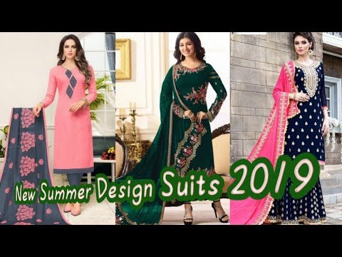 New Summer Range Punjabi Suit 2019 | Ludhiana Wholesale Mark