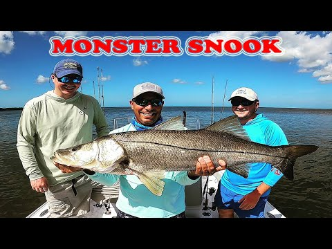 Monster Everglades River Snooks & Juvenile Tarpon Backcountry Fishing Florida Keys