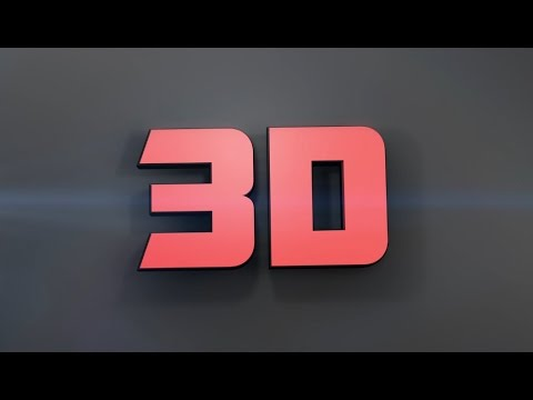 How to Make 3D Text in After Effects - No Third Party Plugin - Easy Method