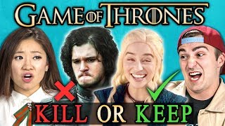 Download KILL or KEEP: Game of Thrones Finale Challenge (React) Mp3 and Videos