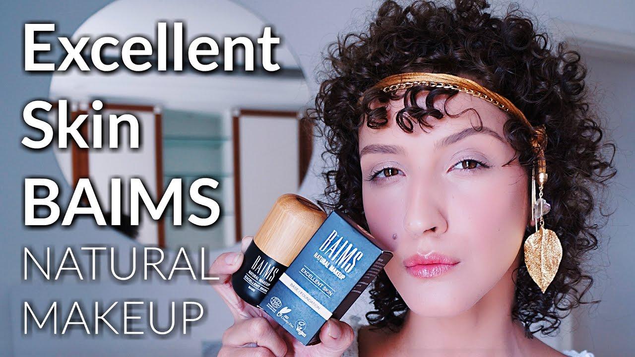 APLICAÇÃO + RESENHA BASE EXCELLENT SKIN BAIMS - Maquiagem Orgânica e Vegana   a6f185cc0c1