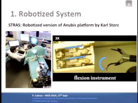IROS 2014 Medical Robots and Systems II & Rehabilitation Robotics II